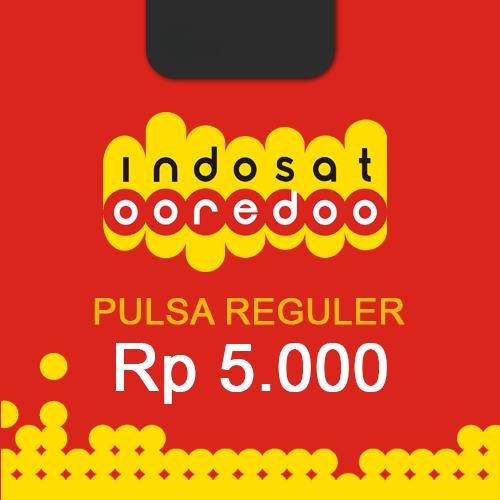 Pulsa INDOSAT REGULER - 5.000