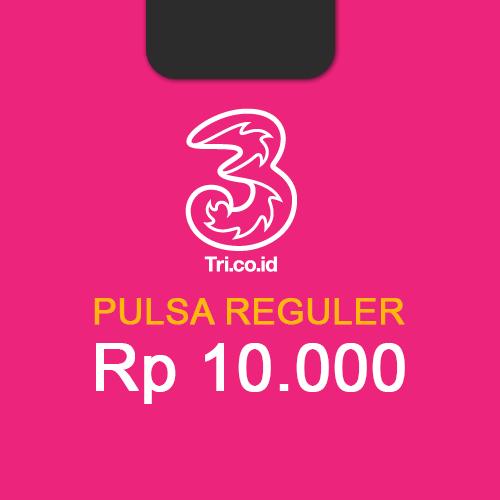 Pulsa THREE - 10.000